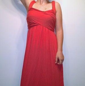 Max Studio Red Woman's Maxi Dress